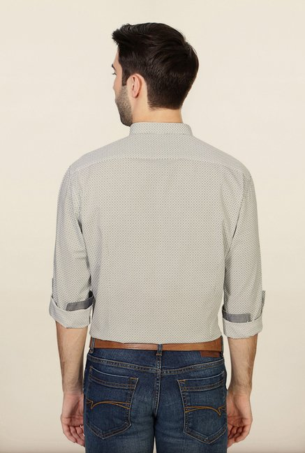 Van Heusen Grey Cotton Shirt