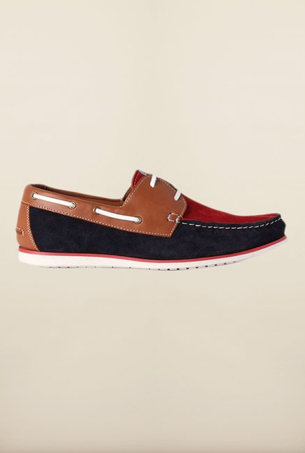 Louis Philippe Red Boat Sneakers