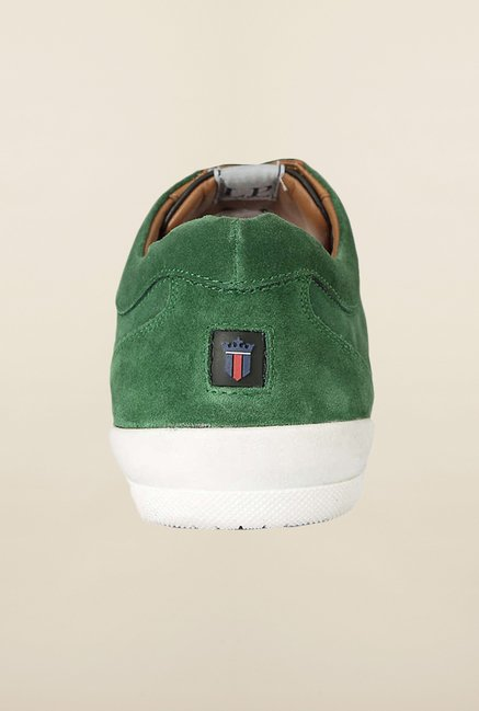 Louis Philippe Green & Black Sneakers