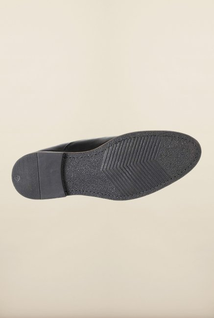 Allen Solly Black Oxford Shoes