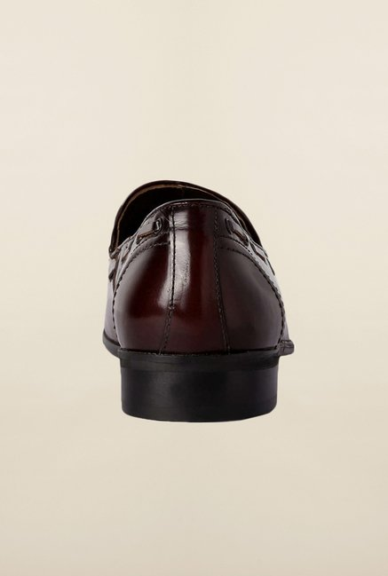 Van Heusen Dark Brown Moccasins