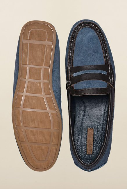 Van Heusen Blue Loafers