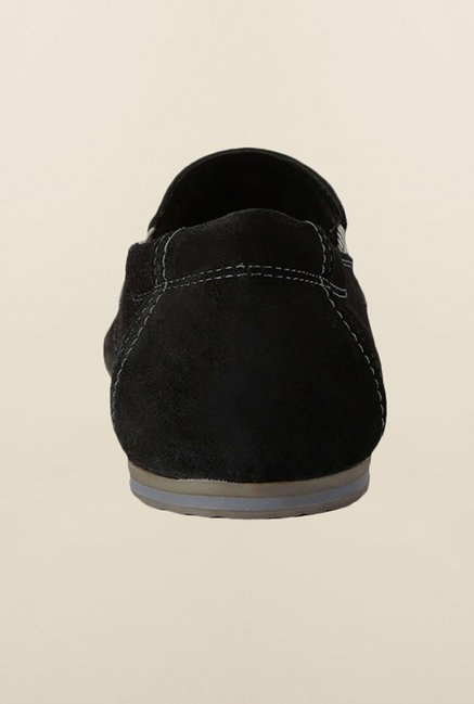 Allen Solly Black Casual Slip-Ons