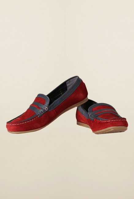 Van Heusen Red Loafers