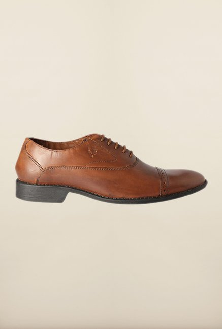 Allen Solly Brown Oxford Shoes