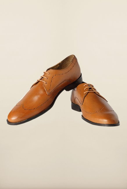 b225f6dc5f4b Buy Van Heusen Brown Formal Shoes Online at best price at TataCLiQ
