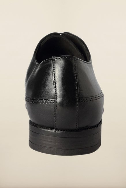Van Heusen Black Brogue Shoes