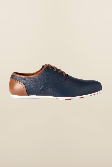 Allen Solly Navy Oxford Shoes