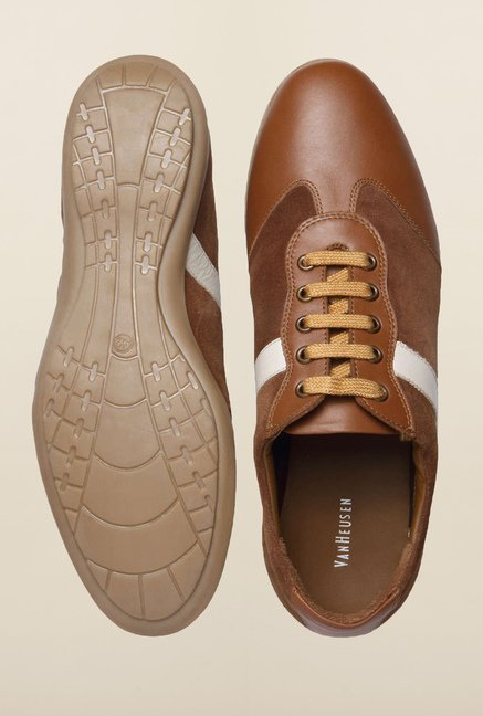 Van Heusen Brown Casual Shoes