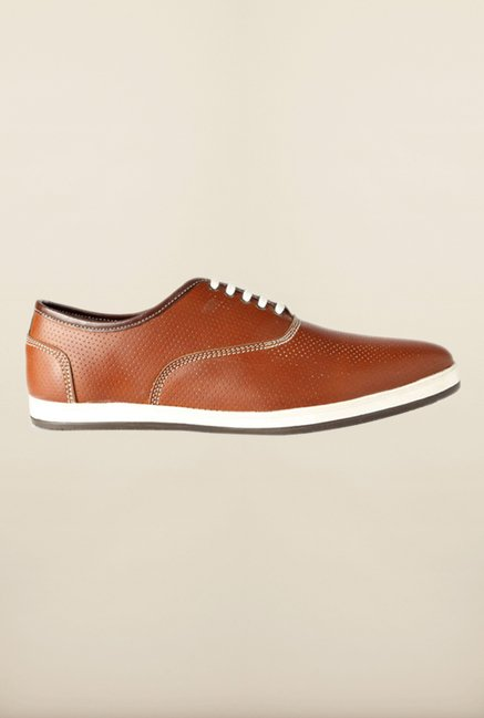 People Brown Oxford Shoes