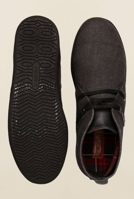 People Black Chukka Shoes