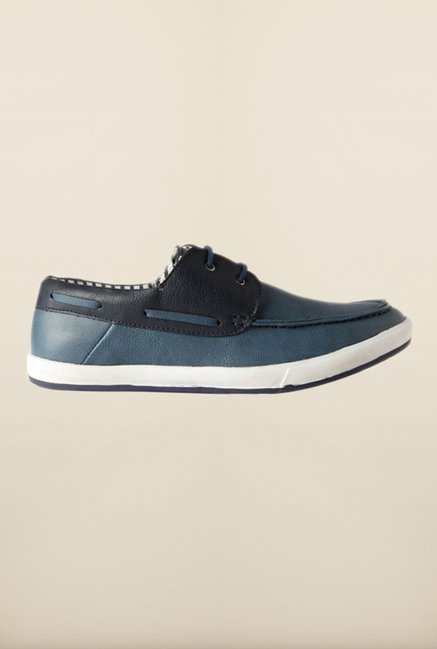 People Blue Boat Shoes