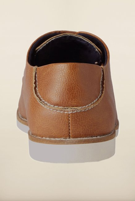 People Brown Derby Shoes