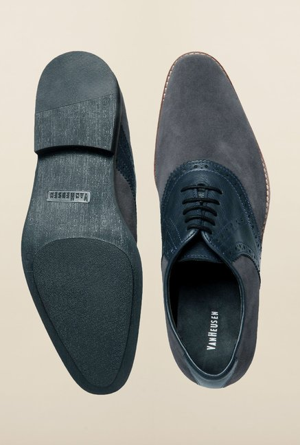 Van Heusen Grey Casual Shoes