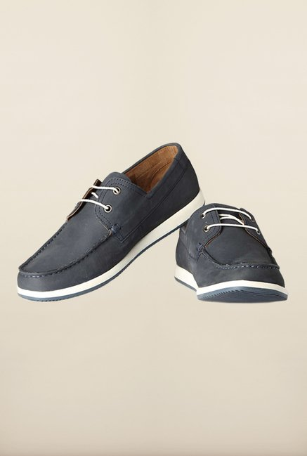 Louis Philippe Navy Casual Shoes