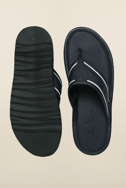 Louis Philippe Navy Slippers