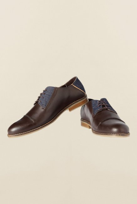 Van Heusen Brown Derby Shoes