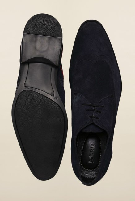 Van Heusen Navy Derby Shoes