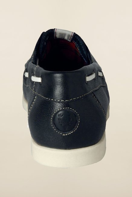 Allen Solly Navy Boat Shoes