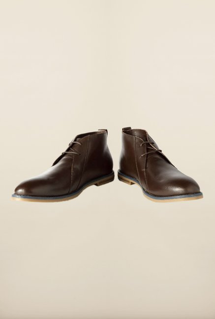 Van Heusen Brown Chukka Shoes