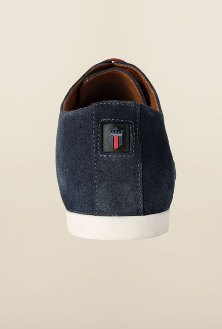 Louis Philippe Navy Oxford Shoes