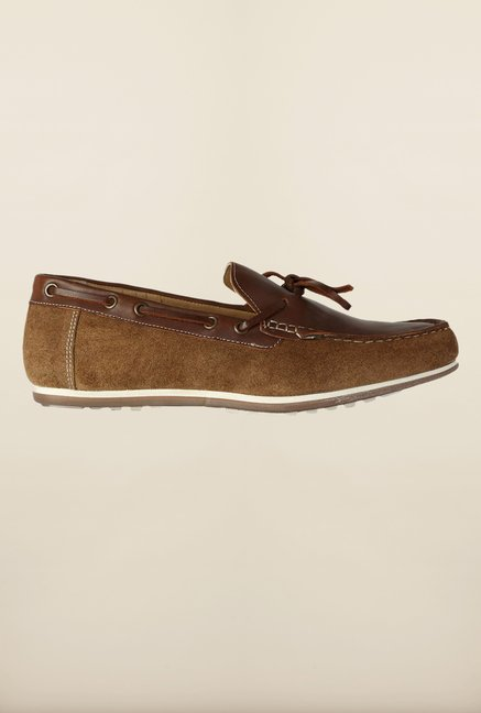 Van Heusen Brown Boat Shoes