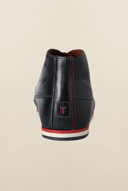 Louis Philippe Black Chukka Shoes