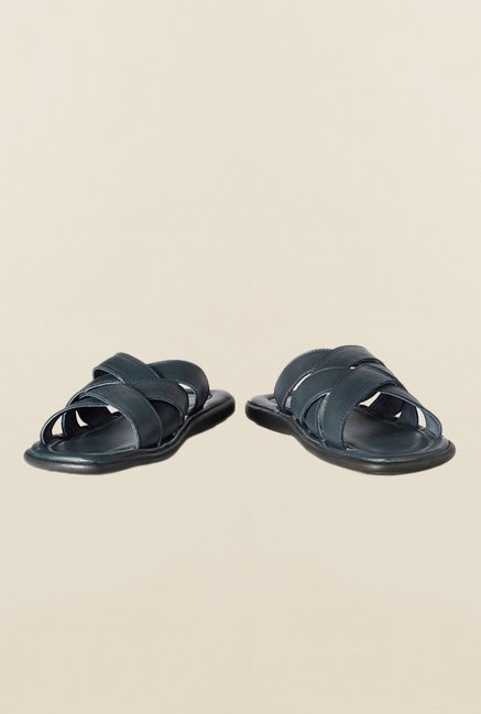 Louis Philippe Navy Thong Sandals