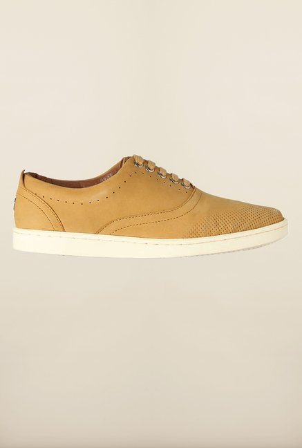 Louis Philippe Camel Brown Sneakers