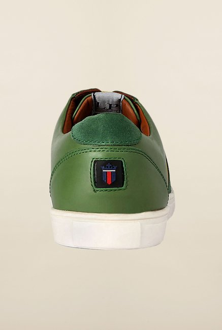 Louis Philippe Green Sneakers