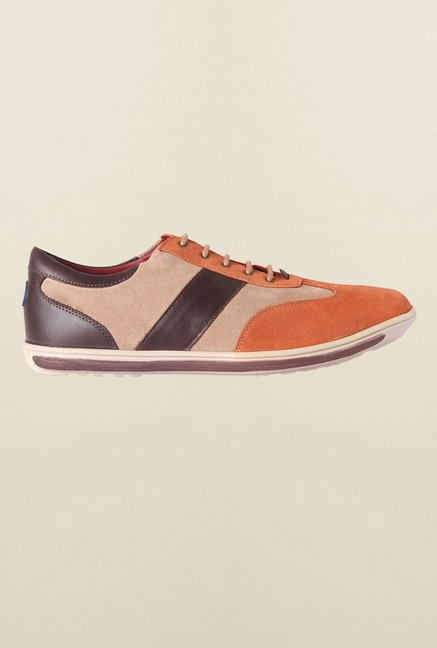 Allen Solly Orange Sneakers