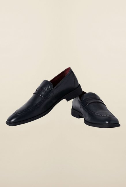 Van Heusen Navy Formal Slip-Ons Shoes