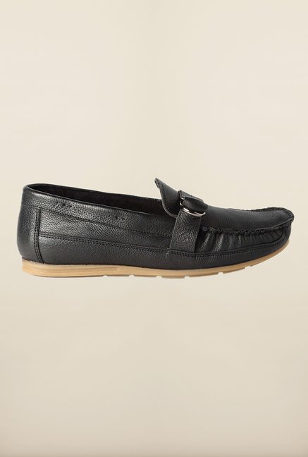 Van Heusen Black Loafers