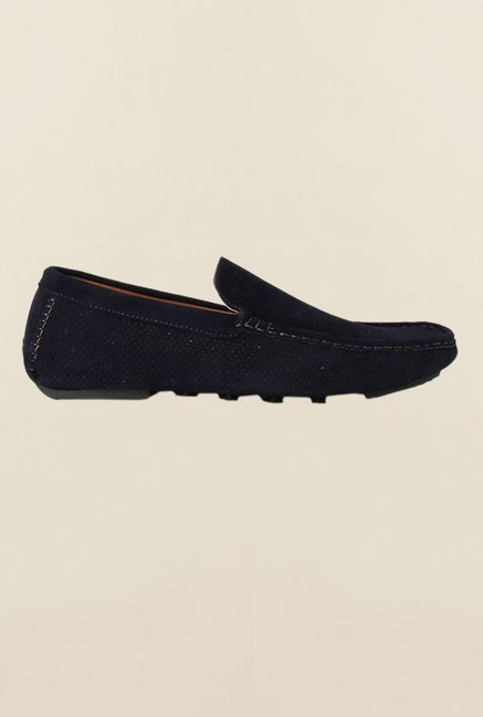 People Navy Loafers