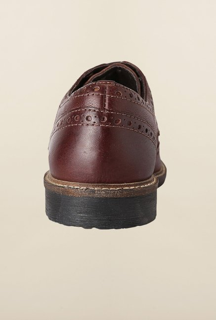 Allen Solly Brown Brogue Shoes