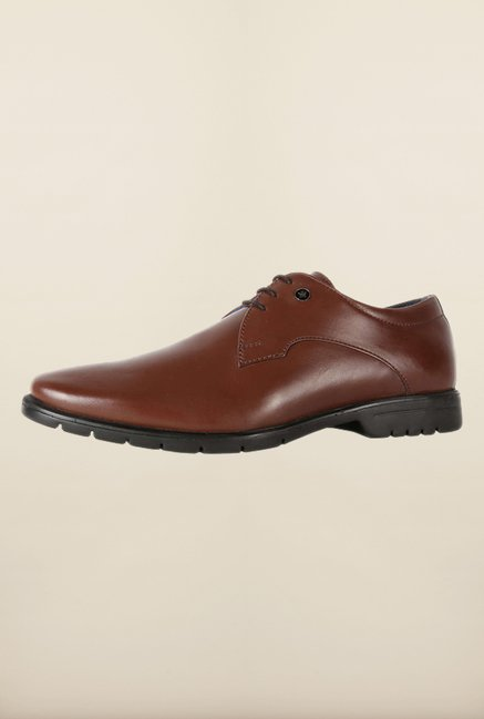 Louis Philippe Brown Derby Shoes
