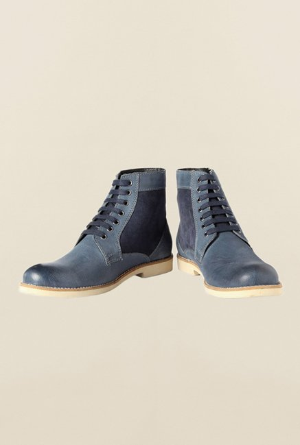 Allen Solly Navy Biker Boot Shoes