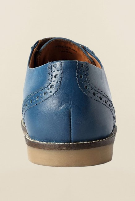 Allen Solly Blue Brogue Shoes