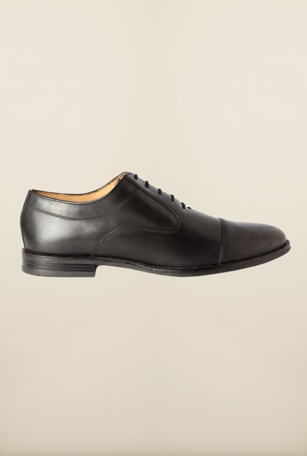 Van Heusen Black Formal Shoes