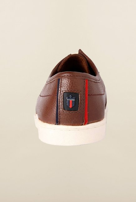 Louis Philippe Brown Casual Shoes