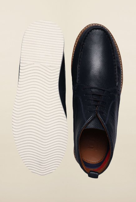 Louis Philippe Navy Chukka Shoes