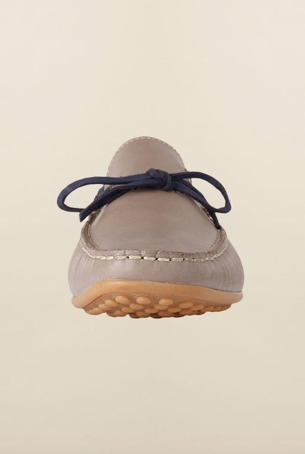 Louis Philippe Beige Moccasins