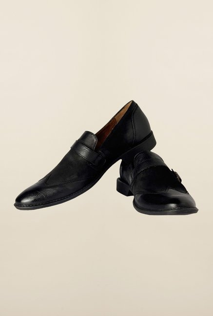 Allen Solly Black Monk Shoes