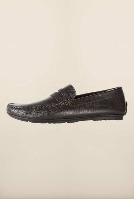 Allen Solly Dark Brown Loafers