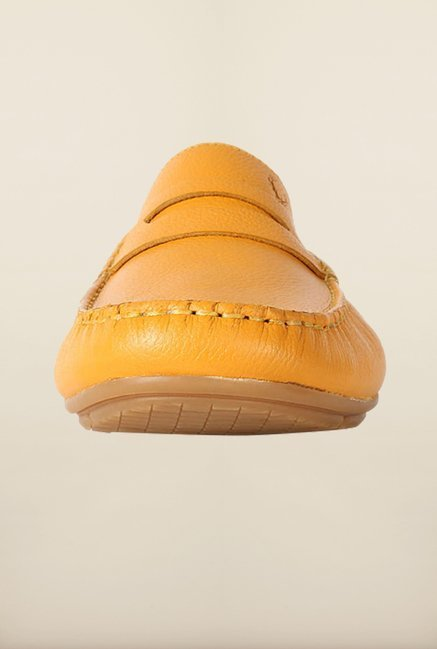 Allen Solly Yellow Loafers