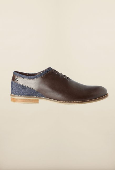 Van Heusen Brown Formal Shoes
