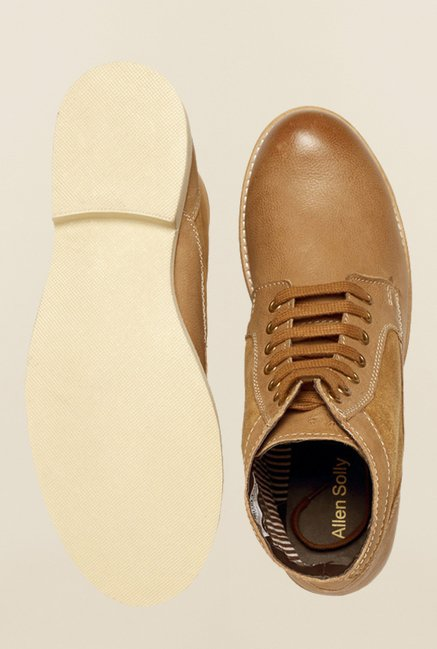 Allen Solly Brown Casual Boots