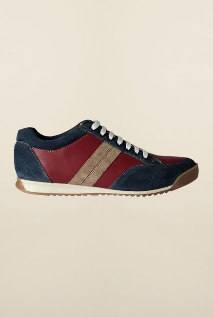 Allen Solly Maroon & Navy Casual Shoes