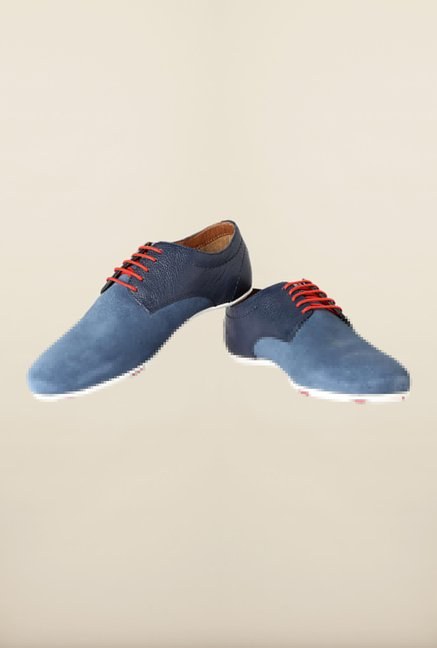 Allen Solly Blue Derby Shoes
