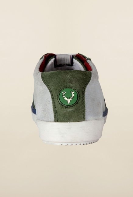 Allen Solly Green Sneakers